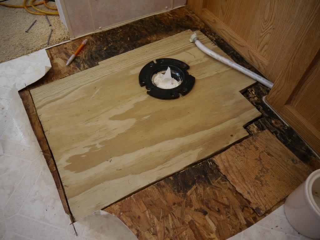 Bathroom Floor Repair Sunline Coach