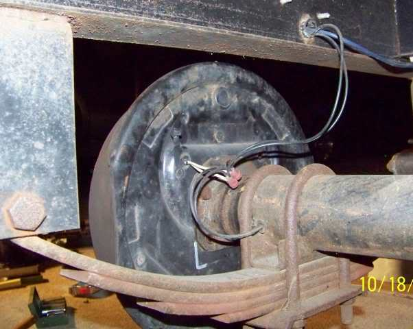 1987 Sunline Saturn 16 U0026 39  Travel Trailer Pigtail Wiring