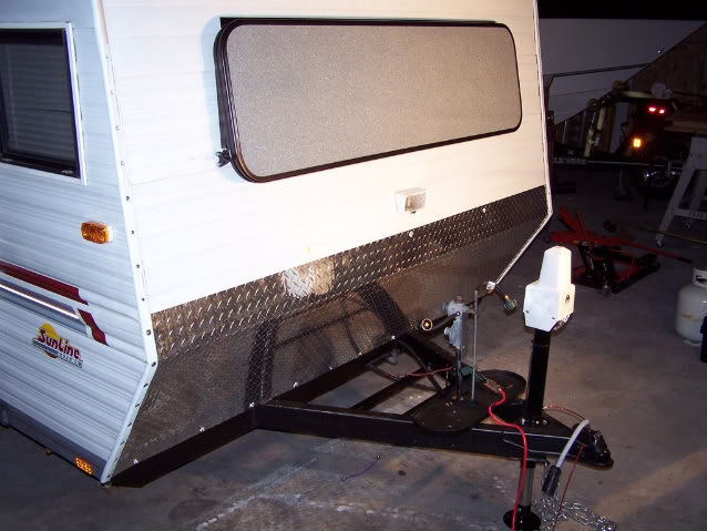 Diamond Plate Rock Guard Sunline Coach Owner S Club