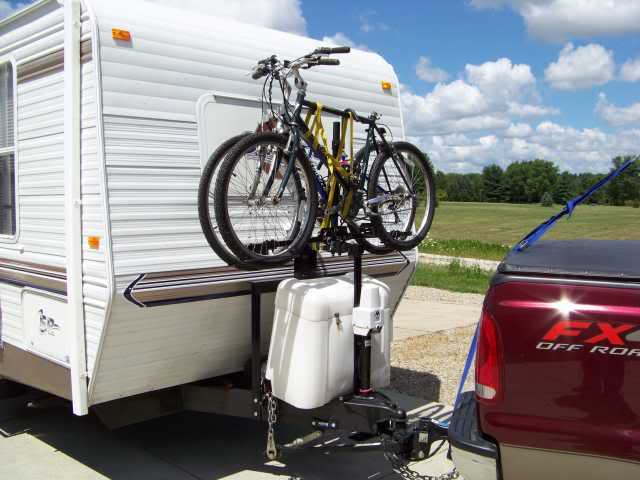 Tt A Frame Mounted Bike Rack With Pic S T 310sr Sunline Coach