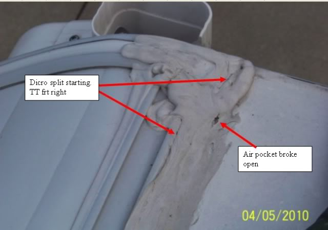 Rubber Roof Caulk Inspect And Repair 101 Sunline Coach