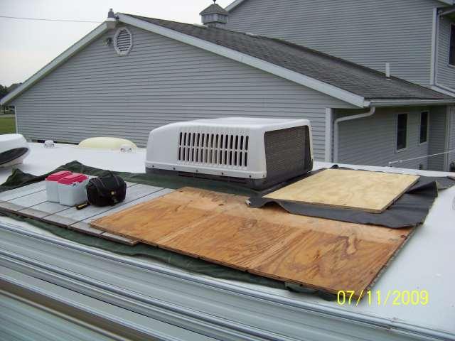 Roof Rv Rubber Repair Attractive Dicor