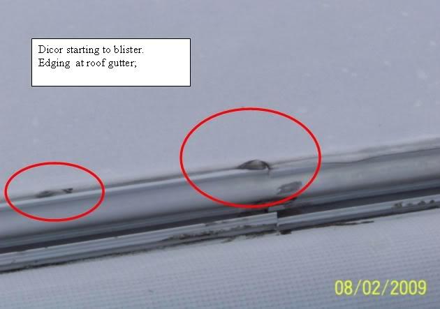Rubber Roof Caulk Inspect And Repair 101 Sunline Coach