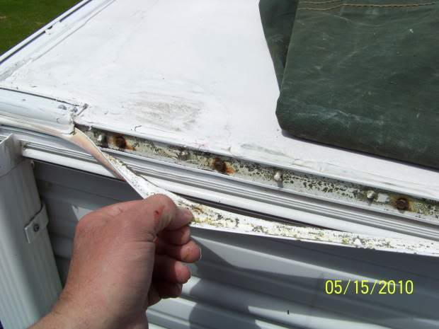 Eternabond Roof Seal Tape On A Sunline Lots Of Pics