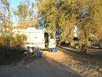 Mitry lake, AZ campsite