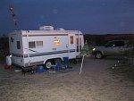 East Mesa camping near 5 palms warm spring