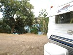 Crossroads campground on CA side of Colorado River, Parker strip