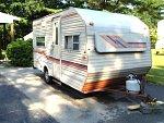 1984 Sunline Travel Trailer T-1650